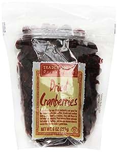 Trader Joe's Dried Cranberries, 8 oz (pack of 2)