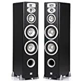 JBL L880 4-Way, High Performance 6-inch Dual Floorstanding Loudspeaker (Black)