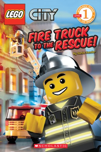 Fire Truck to the Rescue! (LEGO City, Scholastic Reader: Level 1) (Truck City Lego Recycling)
