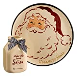Grasslands Road Snocountry Santa Milk and Cookie gift set