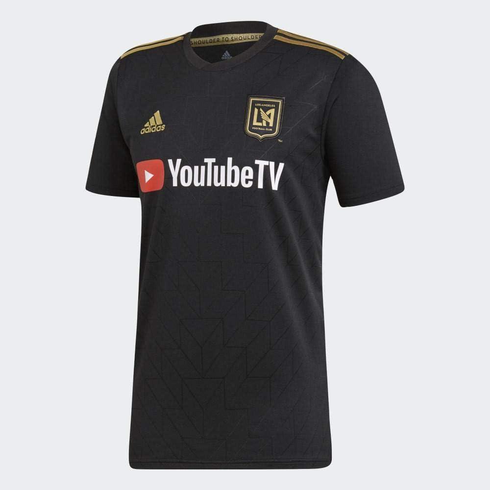 adidas 2019 Los Angeles FC Home Football Soccer T-Shirt Jersey