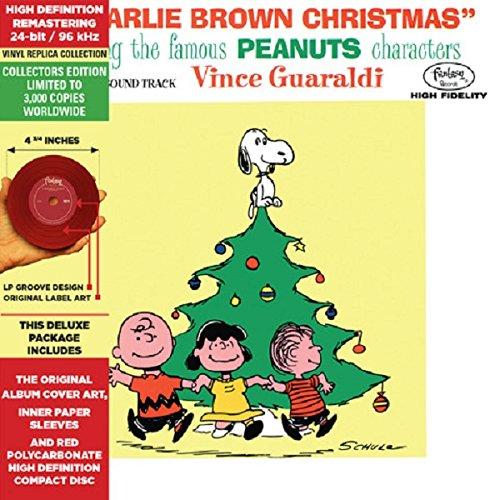 Charlie Brown Christmas - Cardboard Jacket - High Definition CD Deluxe Vinyl Replica (Vince Guaraldi Christmas Charlie Brown)