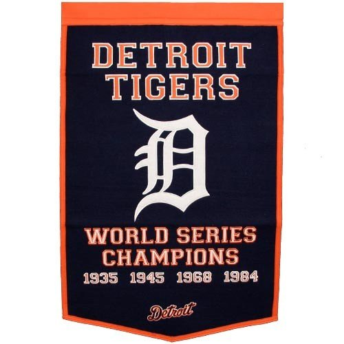 MLB Detroit Tigers Dynasty Banner