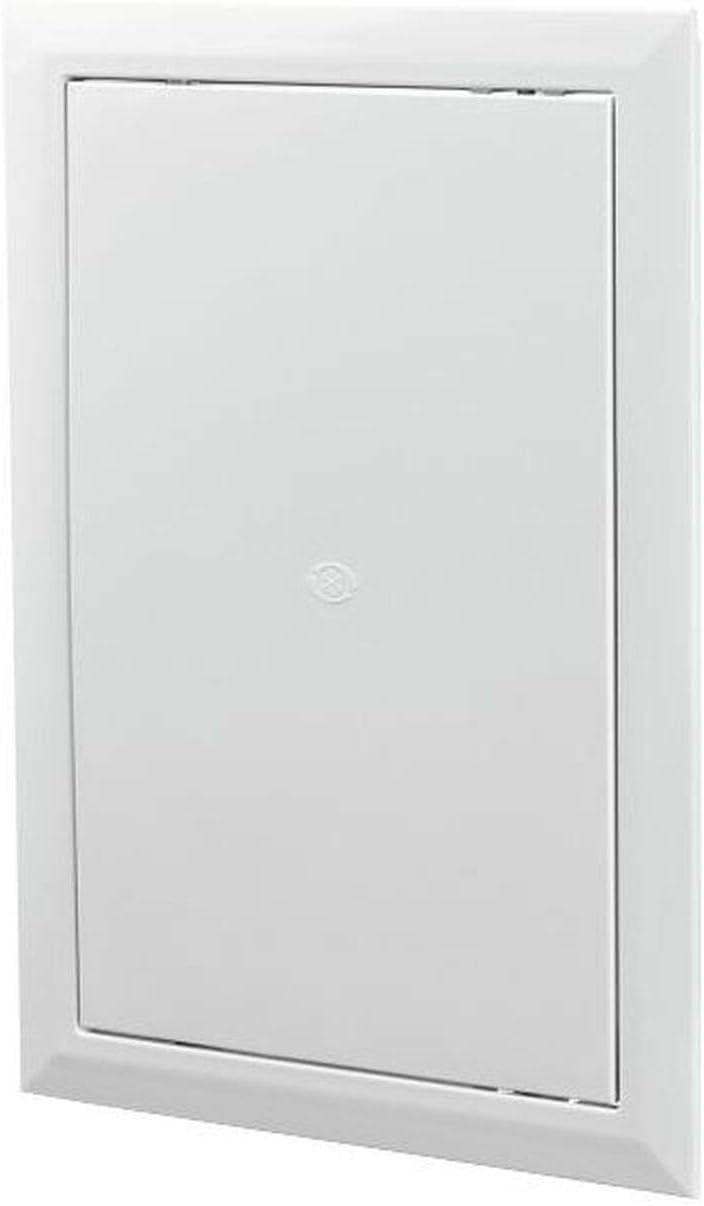 Panel para cubrir tuberías Value Access Panel para calefacción central, conductos, etc. de plástico, con bisagras, 300x400mm