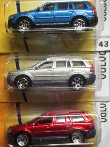 matchbox-volvo-xc90-variant-set-red-60-sittin-on-7-spoke-razors-43-blue-highly-detailed-issue-the-24