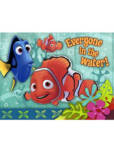 Finding Nemo 'Coral Reef' Invitations w/ Envelopes -