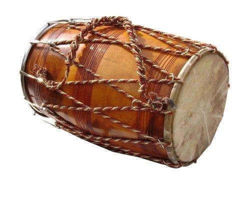 SG Musical Sheesham Wood Bhangra Dhol New