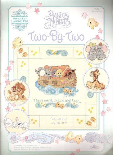 Precious Moments Two By Two Cross Stitch Patterns PM52 Designs by Gloria & Pat