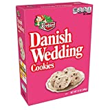 Keebler Cookies, Danish Wedding, Flavors of Coconut and Chocolatey Chips, 12 oz Box(Pack of 4)