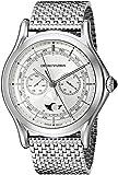 Emporio Armani Swiss Made Men's ARS4201 Analog Display Swiss Quartz Silver Watch