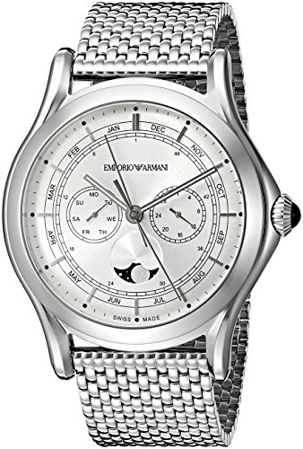 Emporio-Armani-Swiss-Made-Mens-ARS4201-Analog-Display-Swiss-Quartz-Silver-Watch