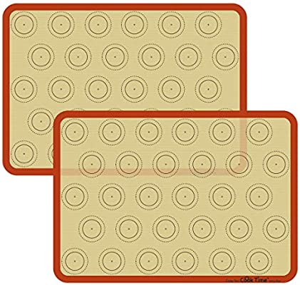Amazon.com: Alfombrilla de silicona para hornear macaron ...