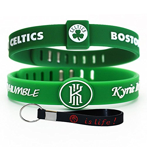 Dogs American Made T-shirt - Adjustable Silicone Wristband Bracelets for Sports Fans-Awesome Gift for Your Family and Friends. (Celtics11)