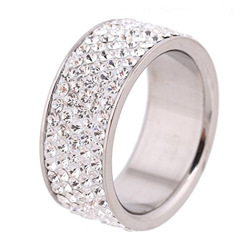 Gorgeous Stainless Zirconia Crystal Wedding product image