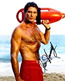 DAVID HASSELHOFF as Mitch Buchannon - Baywatch Genuine Autograph -  Celebrity Ink Autographs - UACC RD#308