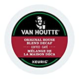 Van Houtte House Blend Decaf Single Serve Keurig Certified K-Cup pods for Keurig brewers, 30 Count