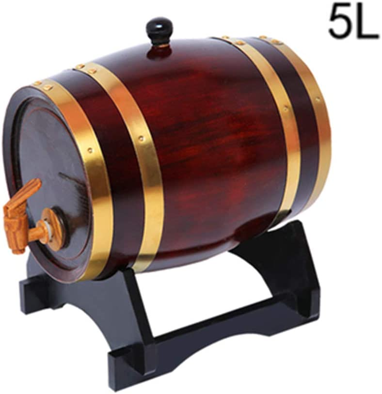 FYHDJ14 Baril Tonneau en Ch/êne Tonneau /à Vin en Bois Capacit/é 5L Tonneau /à Vin pour Tonneau /à Vin Blanc Tonneau /à Bi/ère Tonneau /à Vin Tonneau /à Vin Blanc Tonneau /à Bi/ère Tonneau /&a