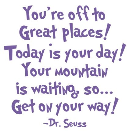 Easy Book Week Costumes For Teachers (Dr Seuss - Inspirational Wall Decals - These Funny Quote Wall Decals Are Made In The USA For. Dr Seuss Baby Books Motivational Quotes Are Easy To Install And Removable - PURPLE)