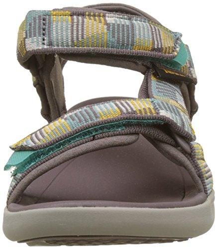 Teva Damen W Terra-Float 2 Universal Sandalen Violett (Nica Plum Truffle)