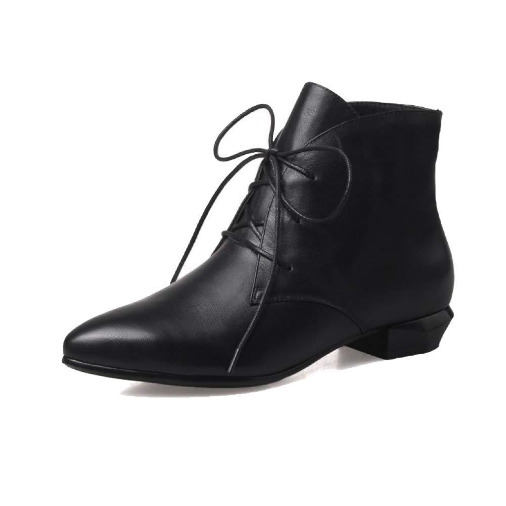 ZPEDY Martin, Chaussures Confortable Femmes, Bottes Martin, Chaussons, Pointu, Bottes Dentelle, Décontracté, Confortable Black bd906eb - gis9ma7le.space