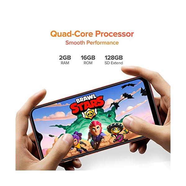 Teléfono Móvil Libre, Ulefone Note 8 Android 10 3G Smartphone Libre, 2GB RAM 16GB ROM (128GB SD) Smartphone, Pantalla 5…