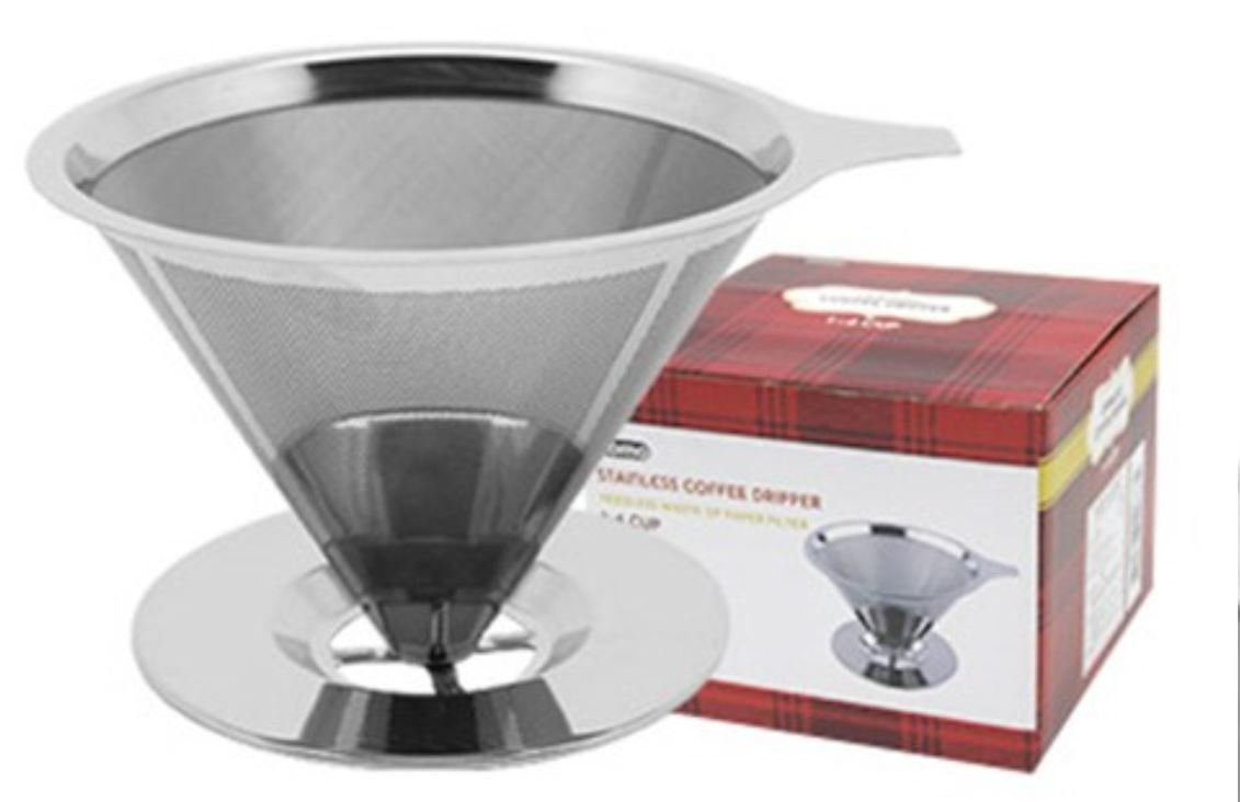 Domo Coffee Dripper Stainless Steel Filter