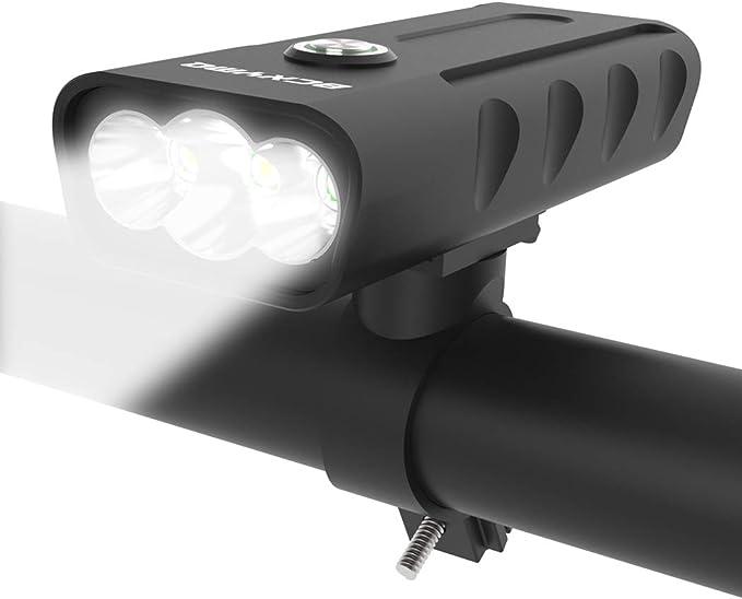 15000LM Bike Front Rear Light Set Bicycle LED Flashlight USB Rechargable lot CZ