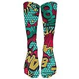 Girls Knee High Socks Cute Cra