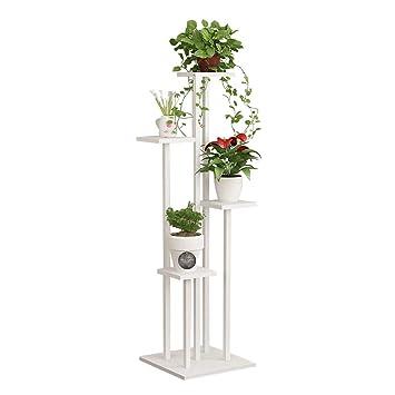 Blumentreppe Holz Pflanzentreppe Blumenregal Blumenständer Blumenbank Multilayer