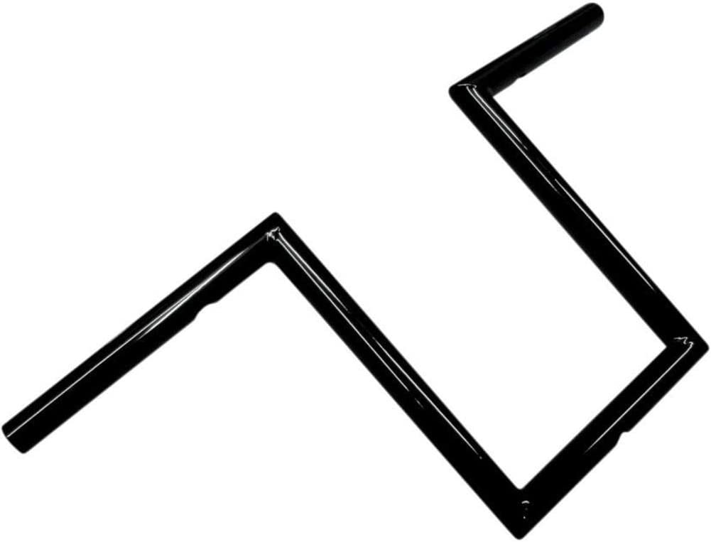 LA Choppers 1in. Old Limited time for free shipping School Handlebar Narrow Black Product 10in. - Z