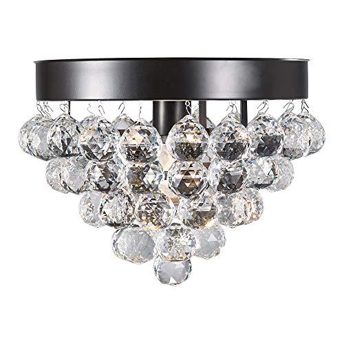 Design House 579433 Madrid 1 Crystal Ceiling Light, Bronze