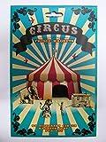 Circus Themed Fridge Letter Magnets
