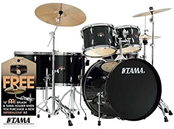 Tama Imperialstar 6 Piece Complete Drum Set With Meinl HCS Cymbals
