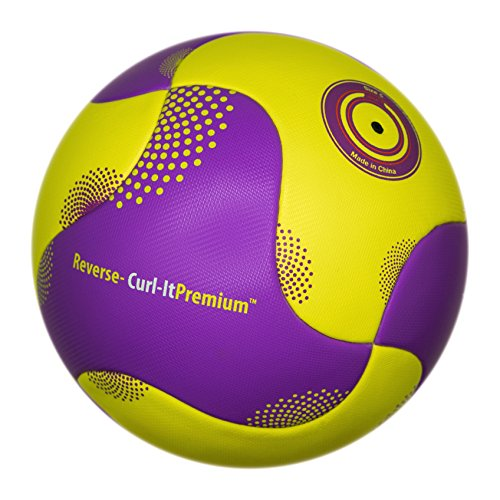 Bend-It Soccer, Reverse-Curl-It Premium, Soccer Ball, OMB With VPM And VRC Technology