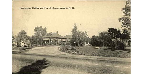 Homestead Cabins and Tourist Home Laconia, New Hampshire Original Vintage Postcard at Amazons Entertainment Collectibles Store