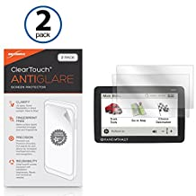 Rand McNally IntelliRoute TND 730 LM Screen Protector, BoxWave® [ClearTouch Anti-Glare (2-Pack)] Anti-Fingerprint Matte Film Skin for Rand McNally IntelliRoute TND 730 LM