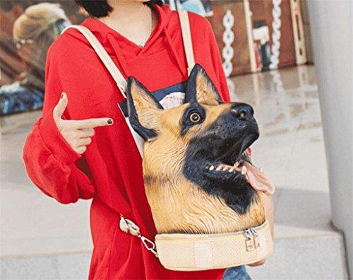 Shopping Voyage à Dos à PU Femmes imperméable Sac 3D Sac Noël Multifonctionnel BeiBao Dos d'anniversaire Sac Cadeau des extérieur A4F6wcq