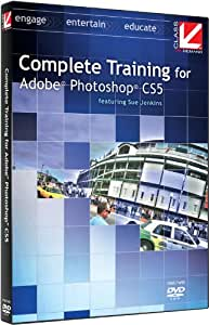 Class on Demand Complete Training for Adobe Photoshop CS5 Educational Training Tutorial DVD-ROM with Sue Jenkins 99905