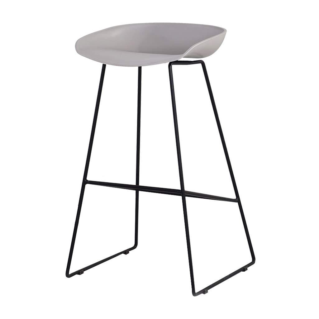 Iron Bar Stool Modern Minimalist Home Bar Chair Bar Chair High Chair High Bar Chair High Stool Bar Stool 83cm Color Grayblack Kitchen Dining