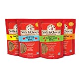 Stella and Chewy's Freeze Dried Raw Dinner 15oz Variety Pack 4 Flavors (Chicken, Duck, Lamb, Beef)