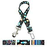 Ihoming Pet Durable Car Seat Belt Adjustable from 16 to 24 Inches Fit Small Dogs, 1 Inch Width Safety Vehicle Pet Leash Review