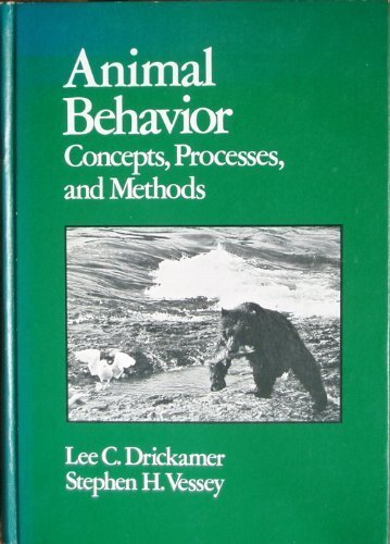 Animal Behavior: Concepts, Principles and Methods
