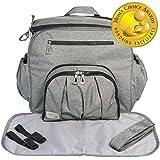 Baby Cedar Diaper Bag for Two Kids. Travel Backpack...