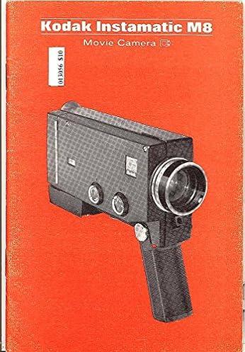 kodak instamatic m8 original instruction manual kodak amazon com rh amazon com kodak instamatic m80 manual Kodak Instant Camera