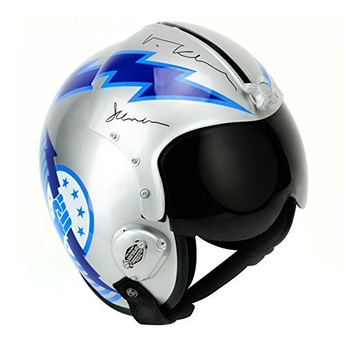 Val Kilmer Autographed Top Gun Iceman Authentic Aviator Helmet