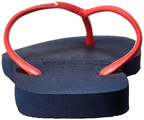 Navy Slim Tongs Femmes ruby Havaianas Up Logo Blue Pop Red BYxgw