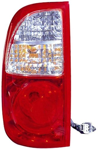 Depo 312-1968L-AS Toyota Tundra Driver Side Replacement Taillight Assembly (For Regular and Access Cab)