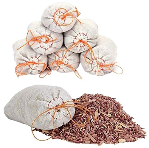 Venxic Household Storage Essentials Moth Repellent Sachets with Natural Cedar Chips for Clothing Closets and Drawers Moth Protection - 10 Packs Venxic-cedar-sachet-10