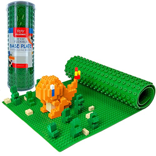 building-bricks-flexible-baseplate-32-x-12-green-base-plate-compatible-with-all-major-brands