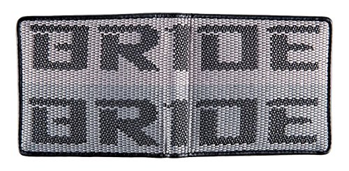 (Kei Project Bride Racing Wallet Seat Fabric Leather Bi-fold Gradation (Bride-Gradation) )